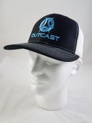 Outcast Trucker Black/White/Tiffany Blue