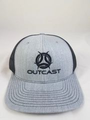 Black/ Grey Outcast Trucker Hat
