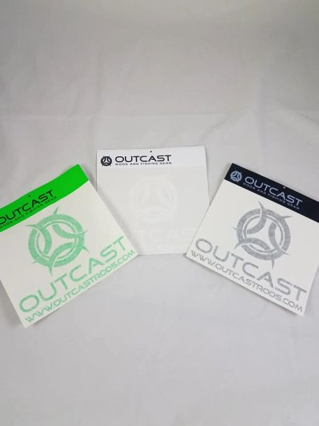 "Outcast Decal (8"" x 8"")"
