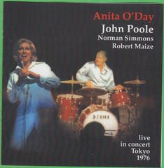 Anits and John Poole concert in Tokyo 1976