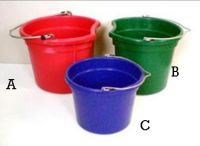 Economy 18 Qt Flat Back Bucket