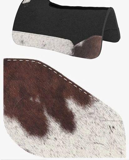 OG Wool Brown Paint Cowhide