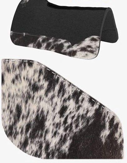 OG Wool Black Speckle Cowhide