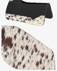 OG Wool Brown Speckle Cowhide