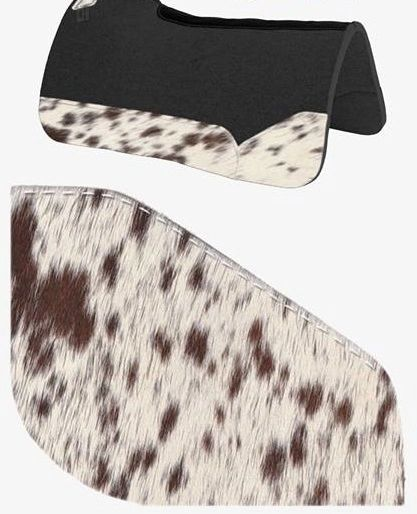 OG Wool Brown Speckle Cowhide