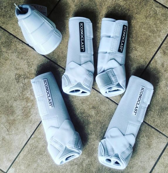 White Iconoclast Orthopedic Sport Boots