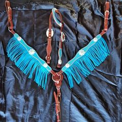 CAN YOU SAY BLING? Quality tack set for that ONE horse ;-)