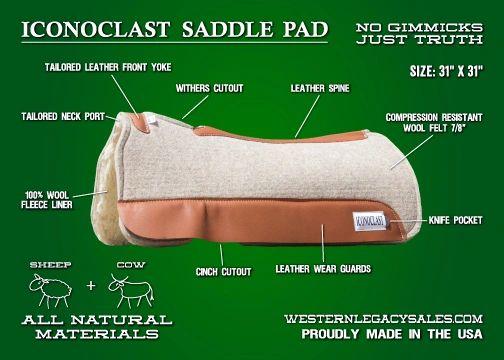 Iconoclast Saddle Pad