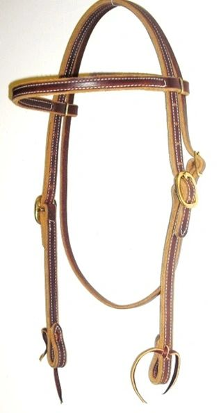Doubled & Stitched Headstall