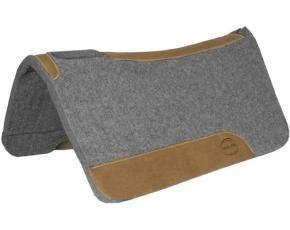 Wool Contoured Spine Saddle Pad