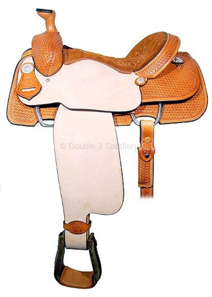 CALF ROPER SADDLE - SCR099