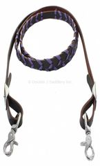 PURPLE LACED REINS - REIN19E