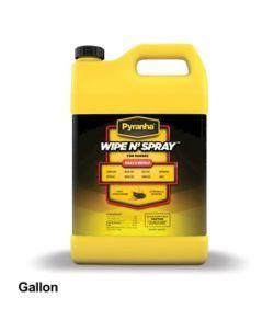 one gallon Pyranha Wipe N Spray