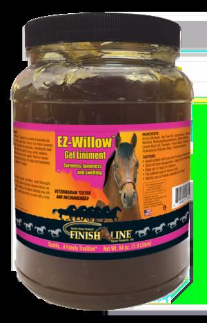 EZ-Willow Gel Liniment 64 oz