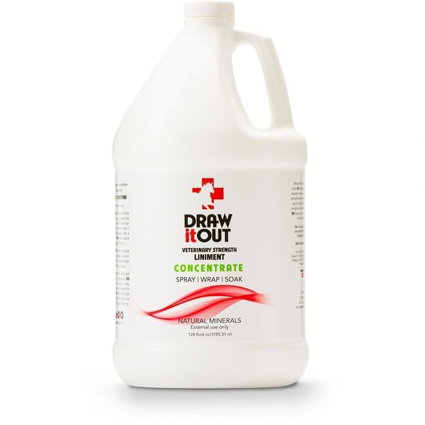 Case of 4 Draw It Out 128oz Concentrate
