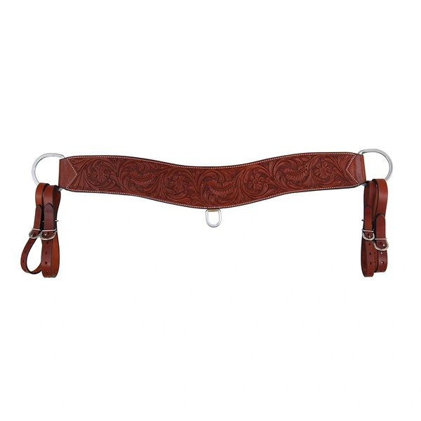 Oxbow Tack Chestnut Floral Tripping Collar