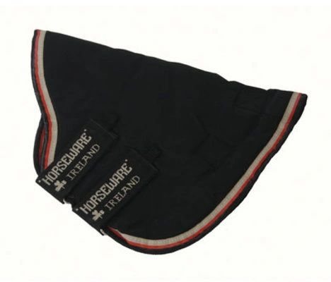 Rambo® Optimo Hood, No fill, Black w/ Black & Orange Trim