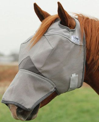Cashel® Crusader Fly Mask Long Nose w/o Ears
