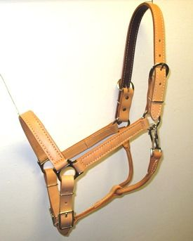 Leather Horse Halter