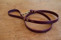 Fig mini luxury leather dog lead