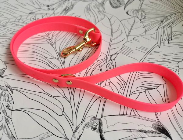Cerise all weather dog lead