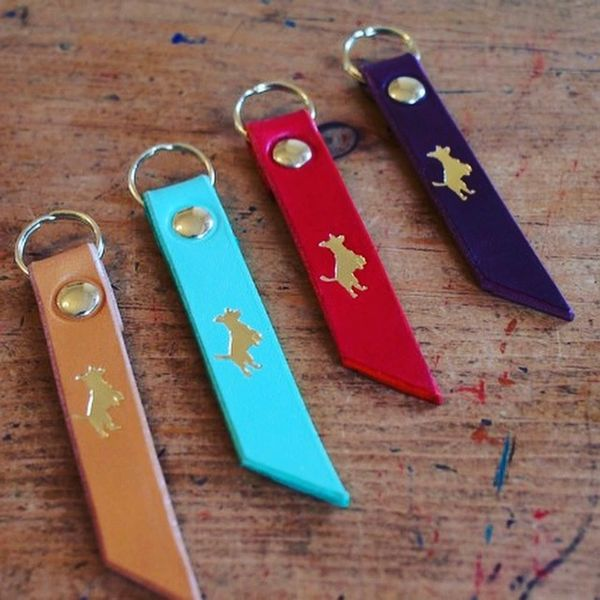 Storeys and Tails keyring