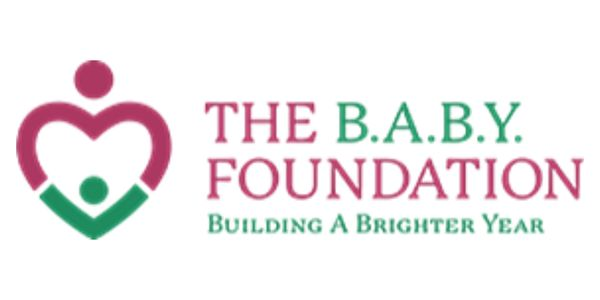 The B.A.B.Y. Foundation Logo.