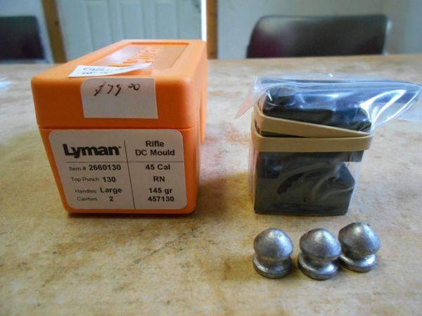 45/70 Lyman Collar button bullet mould