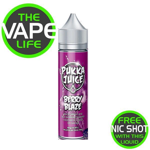 Pukka Juice Berry Blaze + Nic Shot