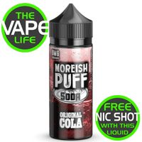 Moreish Puff Soda Original Cola 100ml + 2 Nic Shots