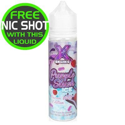 X Series Purple Slush Ice 50ml + Nic shot