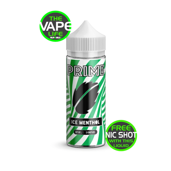Prime Ice Menthol 100ml + 2 Nic Shots