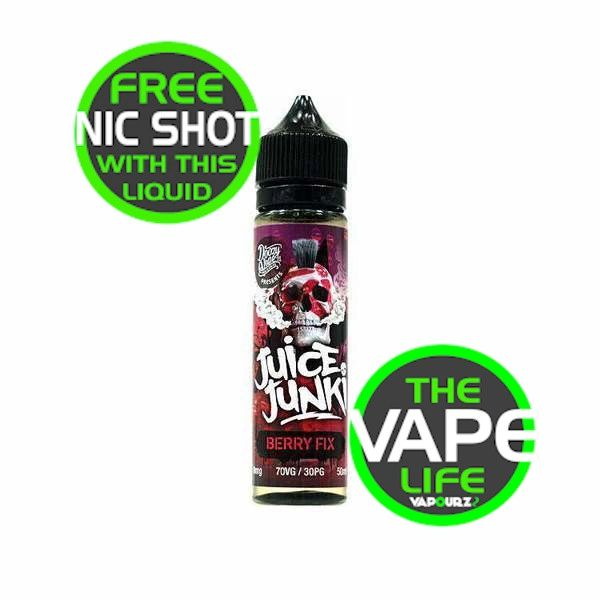Juice Junkie Berry Fix 50ml + Nic Shot
