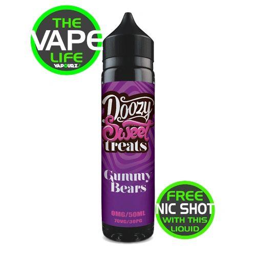 Doozy Gummy Bears 50ml + Nic Shot