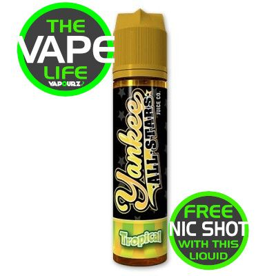 Yankee All star Tropical 50ml + Nic Shot