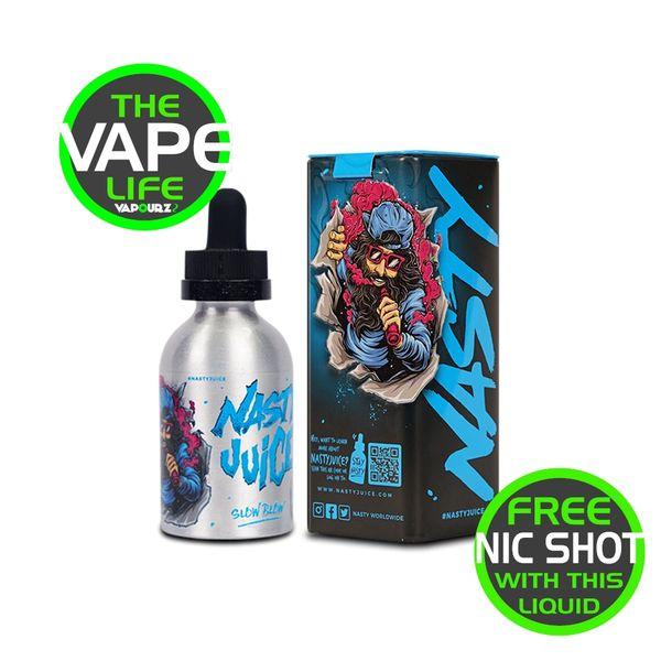 Nasty Juice Slow Blow 50ml + Free Nic shot