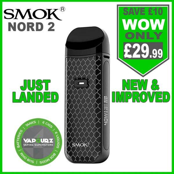 Smok Nord 2 Kit Black Cobra