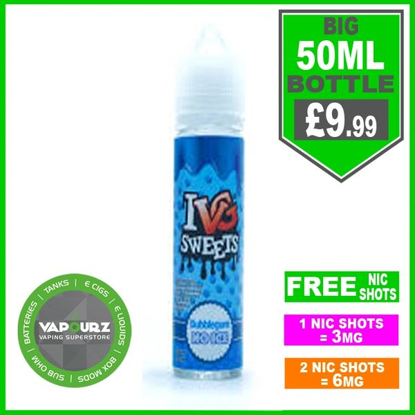 IVG Sweets bubblegum no ice 50ml