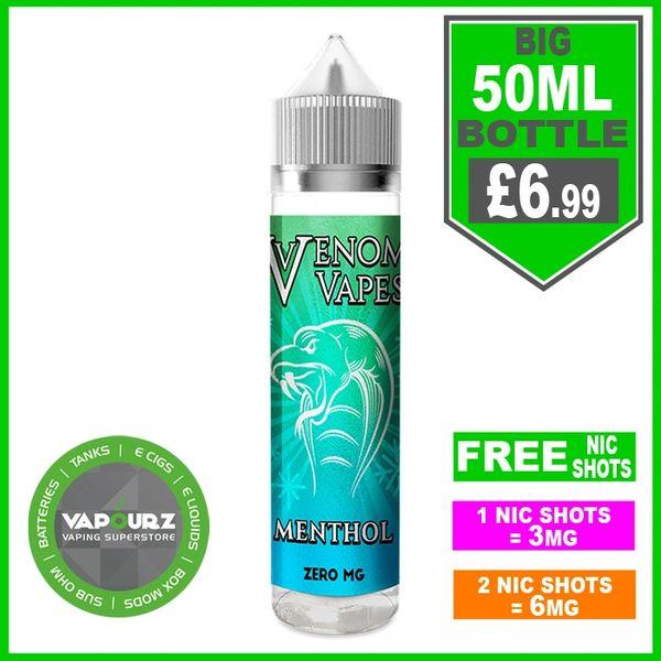 Venom Vapes Menthol 50ml