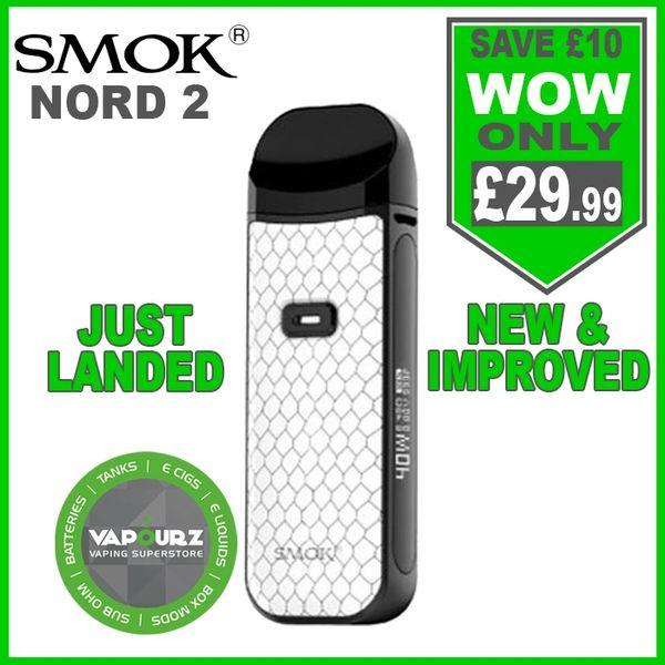 Smok Nord 2 Kit White Cobra