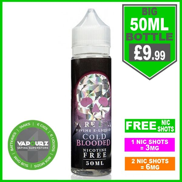 Pure Evil Cold Blooded 50ml