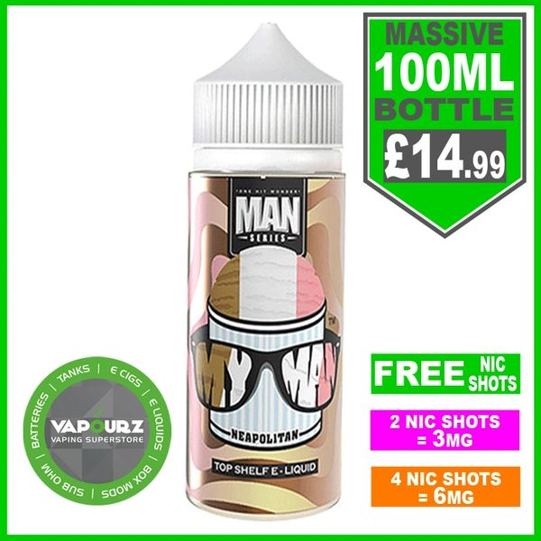 One hit wonder My MAN Neapolitan 100ml