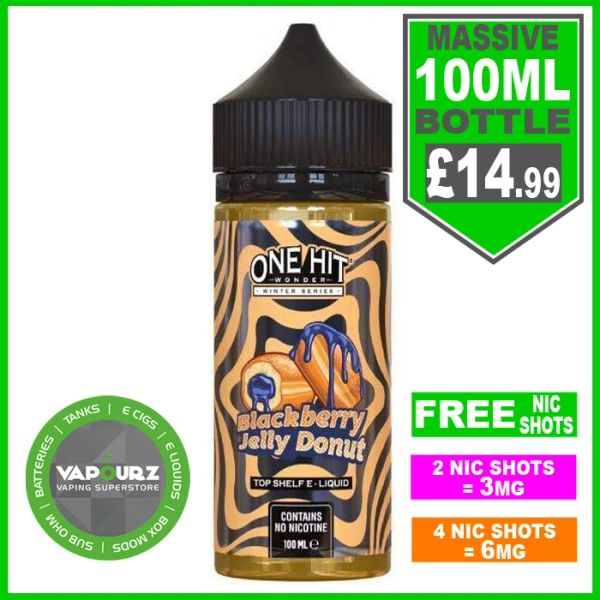 One hit wonder My MAN Blackberry Jelly Donut 100ml