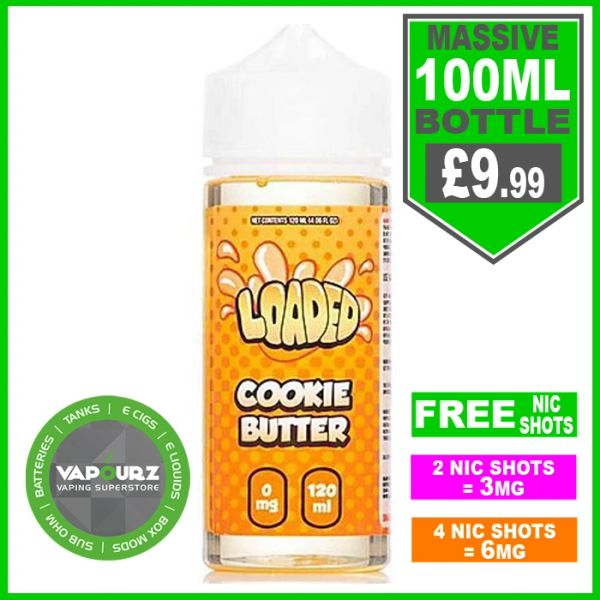 Loaded Cookie Butter 100ml