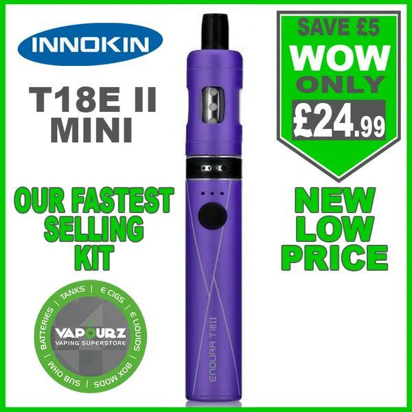 Innokin T18E ii Mini Kit Purple