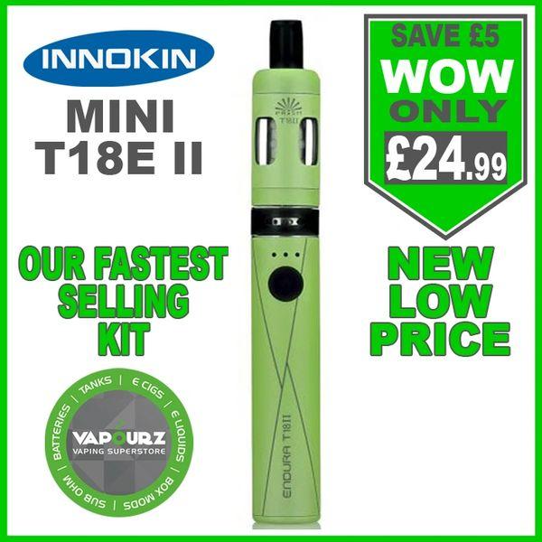 Innokin T18E ii Mini Kit Green