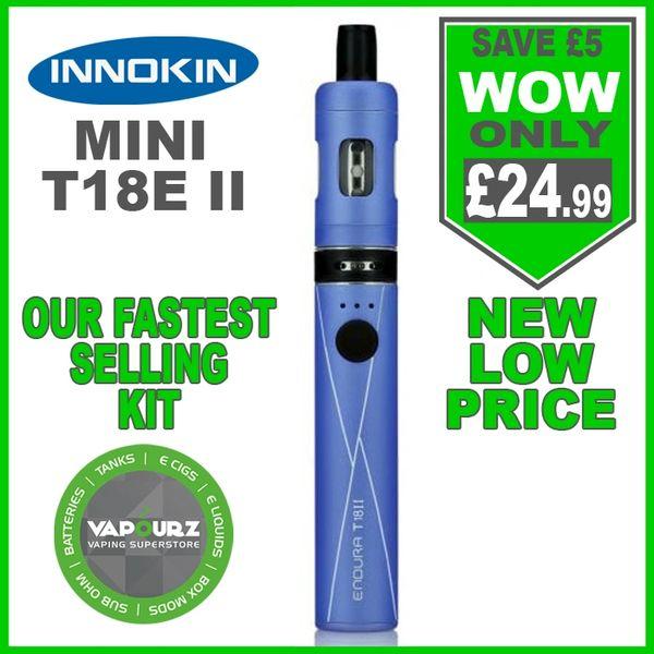 Innokin T18E ii Mini Kit Blue
