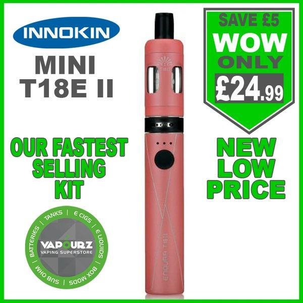 Innokin T18E ii Mini Kit Coral Pink