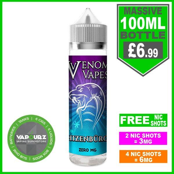Venom Vapes Hizenburg 50ml