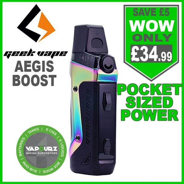 Geek Vape Aegis Boost Kit Aura Glow